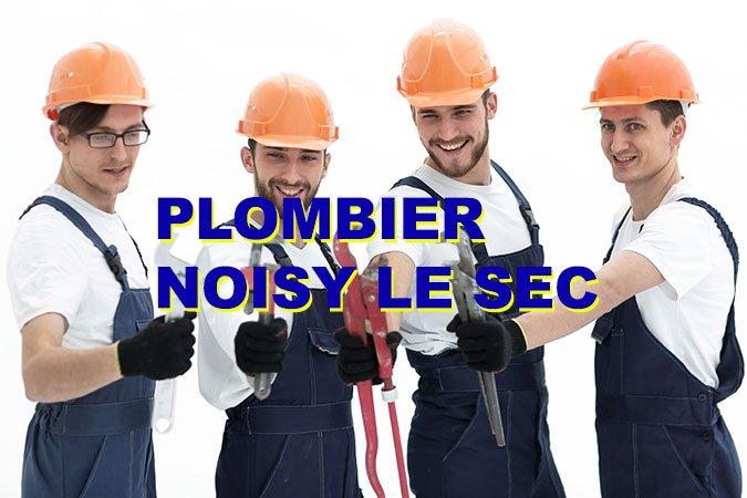 plombier noisy le sec