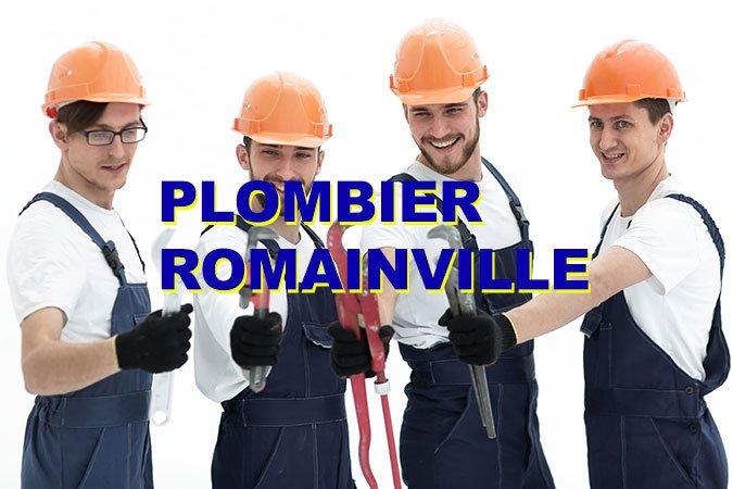 plombier romainville